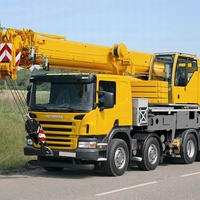 Truck Mounted Telescopic Crane