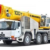 АВТОКРАН ИВАНОВЕЦ КС-8973 - Truck Crane Ivanovets