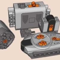 Power Functions™ Lego Mobile Crane