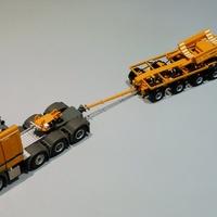 MB Actros 8x4 Titan - Noteboom NLD-70 - LTM 11200 boom