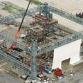 Fukushima Daiichi lefedés - 750 tonna, 140 méter