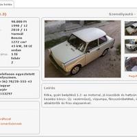 A Trabant 1.3 legendája