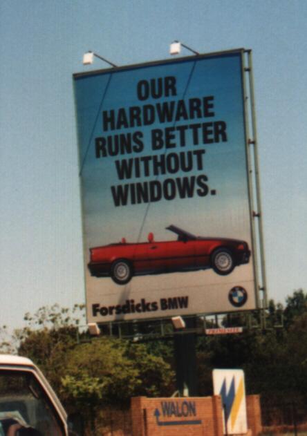 A mi hardverünk jobban fut ablakok (Windows) nélkül.
