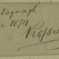 Kossuth Lajos (1802-1894) autogramjai