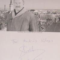 Siim Kallas észt politikus dedikációja