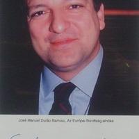 José Manuel Durao Barroso dedikációja