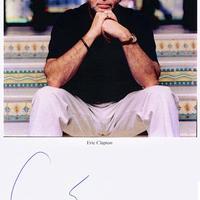 Eric Clapton autogramja