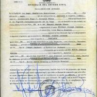 Elkelt Michael Jackson és Lisa Marie Presley esküvői bizonyítványa