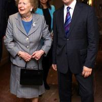 Margaret Thatcher (1925-2013) autogramja