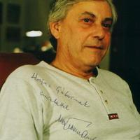 Végvári Tamás (1937-2010) dedikált fotója