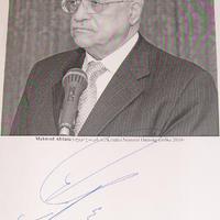 Mahmúd Abbász Budapesten