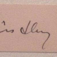 Karinthy Frigyes (1887-1938) autogramja