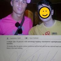 Találkozás Cristiano Ronaldoval Budapesten