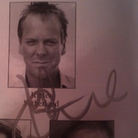 Kiefer Sutherland autogramja New Yorkból