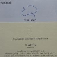 Búcsú Kiss Péter minisztertől