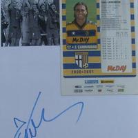 Fabio Cannavaro autogramja