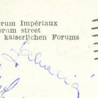 Zakariás József labdarúgó autogramja
