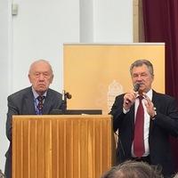 Veterán űrhajósok Magyarországon