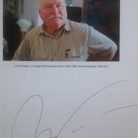 Lech Wałęsa Budapesten