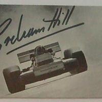 Graham Hill (1929-1975) autogramja