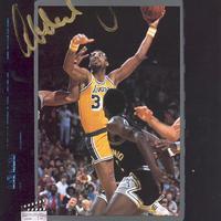Kareem Abdul-Jabbar autogramja