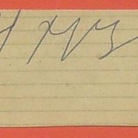 Nyikita Sz. Hruscsov (1894-1971) és Szergej Ny. Hruscsov aláírása