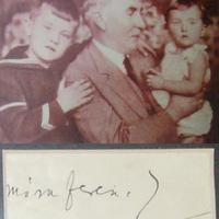 Móra Ferenc (1879-1934) autogramja