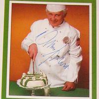 Albert Flórián autogramja (1941-2011) (Aranylabda 1967)