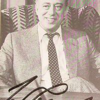 Autogram Derrick felügyelőtől (Horst Tappert 1923-2008)