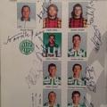 Fradi autogramok a Bajnokok Ligájából (1995)