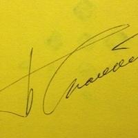 Borisz Szpasszkij sakkvilágbajnok autogramja