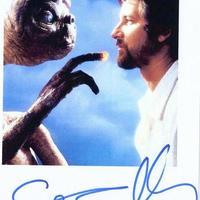 Steven Spielberg autogramja és dedikációja