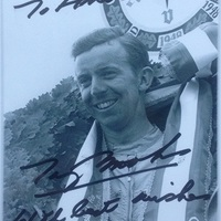 Tony Brooks autóversenyző dedikációi