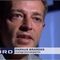 Riport az autogram hamisításról a német RTL-en