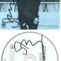 Sting autogramja 2000-ből