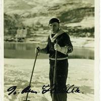 Charlie Chaplin (1889-1977) dedikált fotója