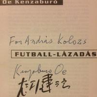 Óe Kenzaburó (Irodalmi Nobel-díj, 1994)