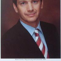 Magyarország új miniszterelnökének autogramja (Bajnai Gordon)