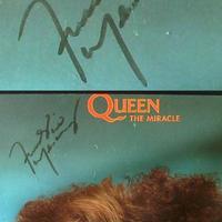 Freddie Mercury (1946-1991) autogramja