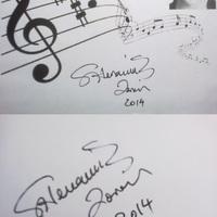 Zorán dedikációja - Siófok 2014 és Budapest 2011