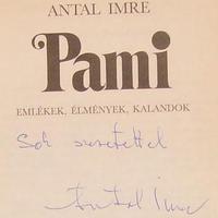 Antal Imre (1935-2008) dedikációja
