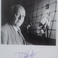 Alfredo Di Stéfano (1926-2014) autogramjai