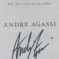André Agassi autogramja