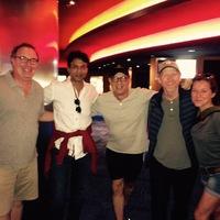 Autogramok az Inferno budapesti forgatásáról (Ron Howard, Dan Brown, Irrfan Khan, Tom Hanks)