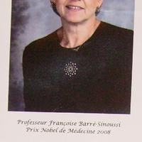 Orvosi Nobel-díj 2008: Francoise Barré-Sinoussi