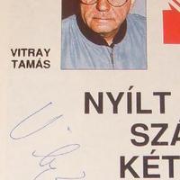 Vitray Tamás ma 75 vagy 76 éves