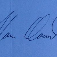 Noam Chomsky autogramja