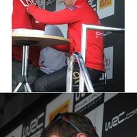 WRC autogramok: Sébastien Loeb és Petter Solberg