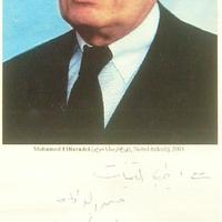 Mohammed el-Baradei dedikációja
