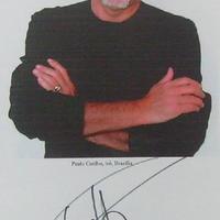 Paulo Coelho autogramja